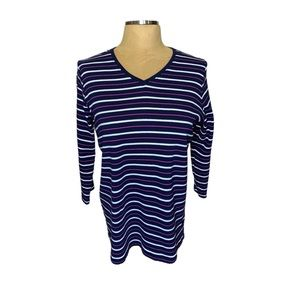 Kim Rogers striped top